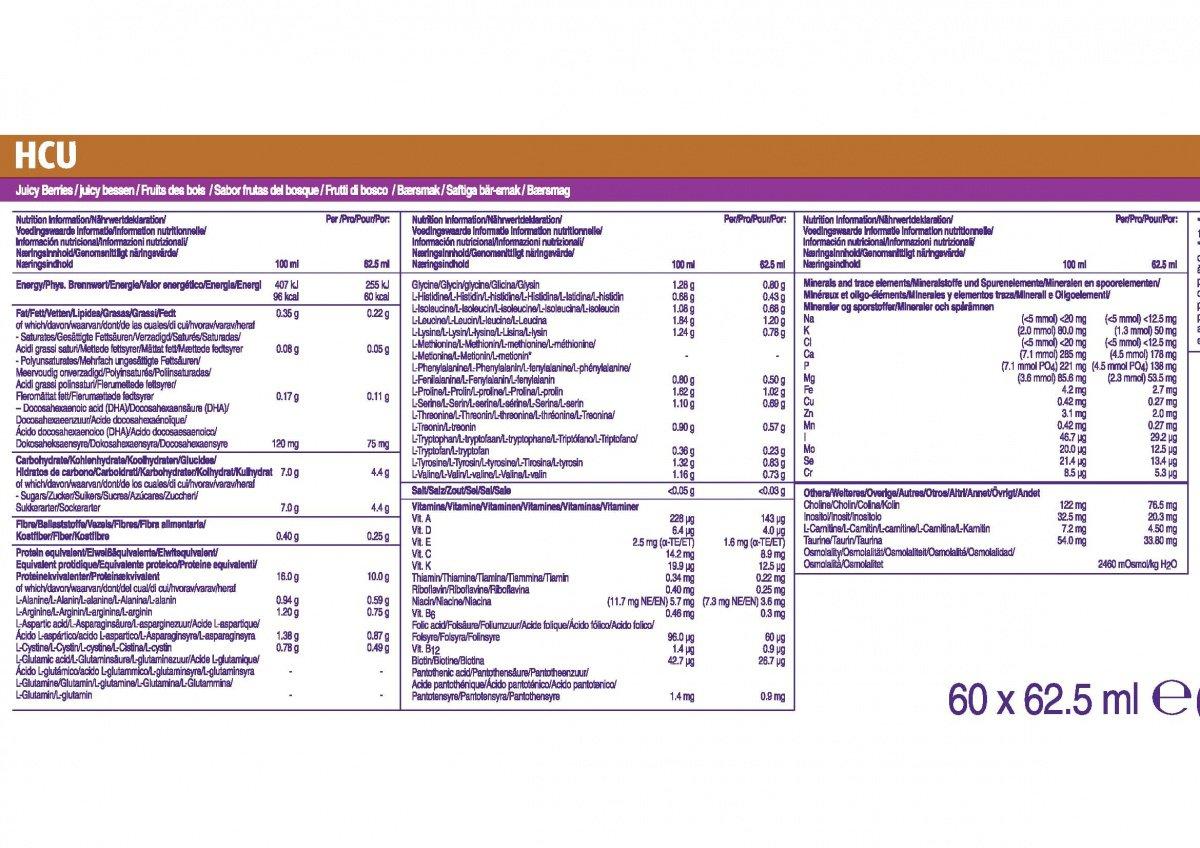 Información de HCU Lophlex LQ 10